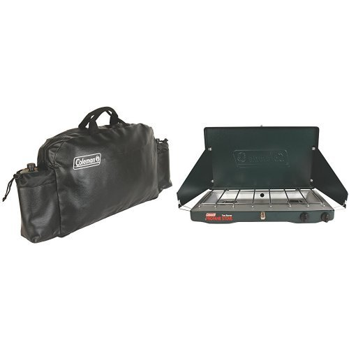 Coleman Medium Stove Carry Case and Coleman Classic Propane Stove Bundle by Coleman