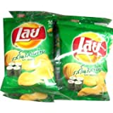 Lay's Nori Seaweed Potato Chips Emotions Japan's Really 31 g. (Pack of 3)