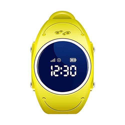 Kids Smart Watch,TOPCHANCES IP68 Wateproof Children Phone Watch SOS Timer Alarm Clock Camera Pedometer Touchscreen Wristband Watch (Yellow) by TOPCHANCES