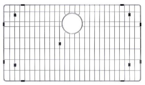 "KRAUS KBG-100-32 Stainless Steel Bottom Grid for KHU100-32 Single Bowl 32"" Kitchen Sink, 29 9/16"" x 16 9/16"" x 1 3/8"" by Kraus (Image #4)"