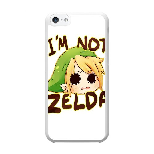 Coque,Coque iphone 5C Case Coque, Legend Of Zelda Link Chibi Cover For Coque iphone 5C Cell Phone Case Cover blanc