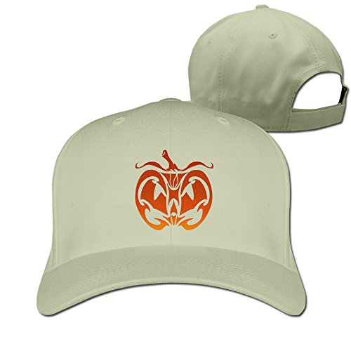 Pumpkin Face Baseball Hats By