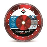 Rubi Tools Viper 4 1/2' Dry Diamond Blade USA Ref.31927