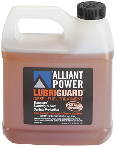 Alliant Power LUBRIGUARD Diesel Fuel Treatment - 4 Pack of 1/2 Gallons # AP0511