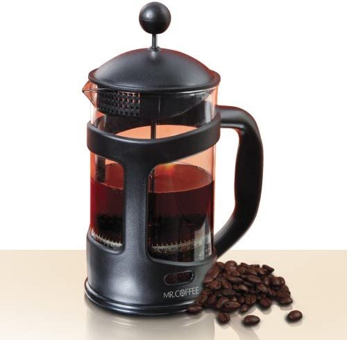 Mr. Coffee 28 Oz French Press extracts natural oil