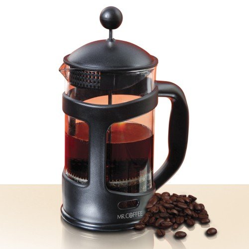 Mr. Coffee Brivio 28 oz Coffee Press ~ Protected Binoculars Carafe