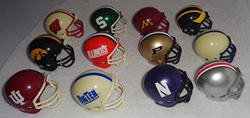 Ten Conference Set - Ncaa Pocket Pro Helmets, BIG TEN Conference Set, (2016) NEW