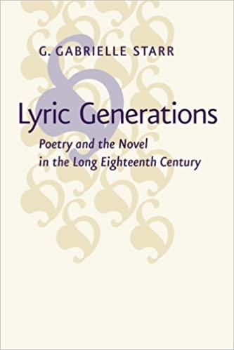 Lyric Generations: Poetry and the Novel in the Long ...