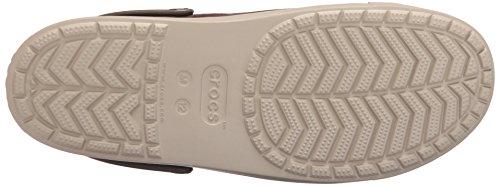 Crocs Citilanecnvsclg, Zoccoli Unisex-Adulto Espresso/Cobblestone