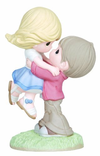 (Precious Moments Figurine, Boy Lifting Girl, 133004)