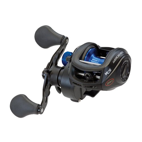 Lews Fishing American Heroes Speed Spool Baitcast Reel (Boxed Pack), 7.2 oz./120 yd./12 lb./6.4:1