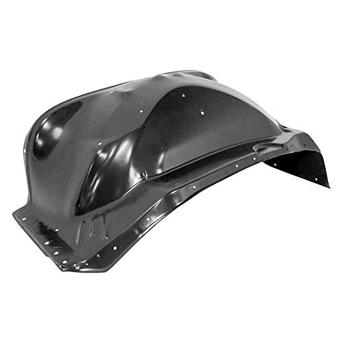 New Front Right Passenger Side Inner Fender For 1981-1991 GMC Suburban Wheelhouse, Steel, Black GM1247102