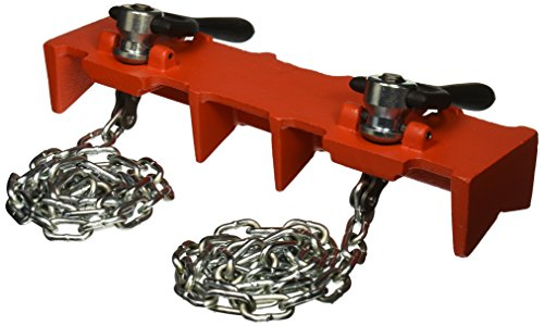 RIDGID 40220 461 Straight Pipe Welding Vise, 1/2-inch to 8-inch Pipe Welding Clamp ()