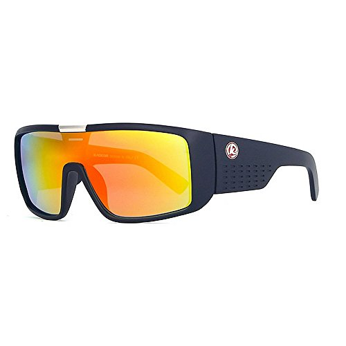 De Gafas Sol Gafas UV Gafas para C51 C56 Coloridas Prueba de del Hombre Protección LBY Sol Sol Color A Los Hombres Marco Grandes De De De Gafas De Viento 7gwx0d