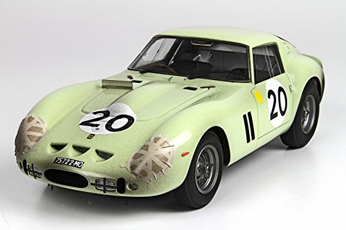 1962 Ferrari 250 GTO #20 Le Mans Innes Dirty Version in 1:18 Scale by BBR