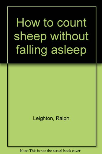How to count sheep without falling asleep
