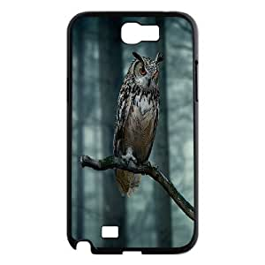 Cute owl,owl you need is love Pattern Hard Case Cover Back Skin Protector For For Samsung Galaxy Note 2 Case FKGZ468955