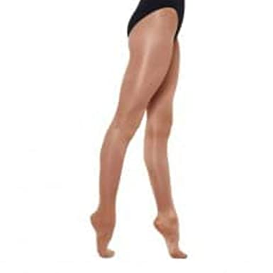 0a967110a93 Ladies Silky Dance Shimmer Tights Full Foot or Stirrup Foot in Toast or  Light Toast  Amazon.co.uk  Clothing