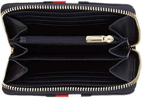 Corporate One Size Tommy Hilfiger Monogram Zip Pull Womens Wallet//purse Purse