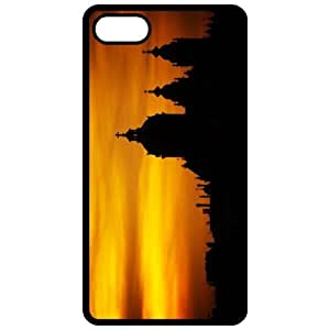 Diy Yourself Church Silhouette Image Black Apple Iphone 4 - Iphone 4s cell phone case cover - EuKH0ogojaD Cover