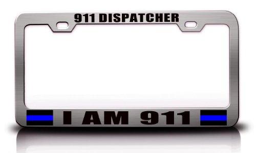 license plate frame 911 - 5