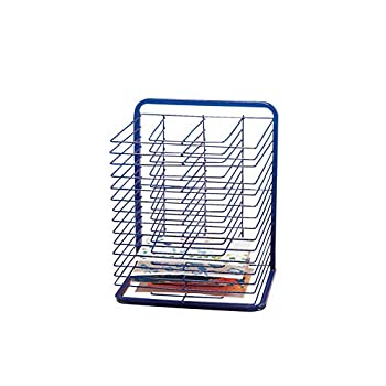 Image of Marvel Education Co. Economy Drying Rack - 2 3/4 x 17 x 25 - Blue Home and Kitchen
