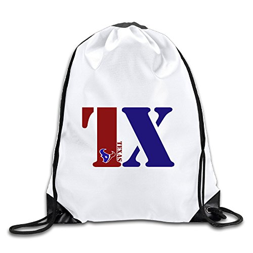 Dance Costumes Houston Texas (HROSE Unisex Drawstring Bags Texas - TX Logo Drawstring Pouch Bags, Ideal For Gym And Sports Workout)