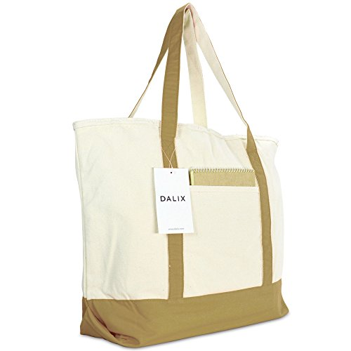 Brown Canvas Tote (22