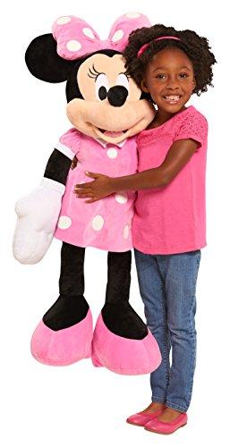 Minnie Mouse Stuffed Toy - Disney 19282 Classic Plush Scale Minnie