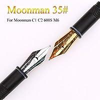 negocios czxwyst Moonman M2 oficina Extra Fine Nib Cuentagotas para coleccionar firma estudiante