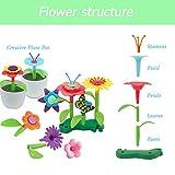 Kyerivs Flower Garden Building Toys Set for Girls