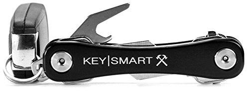 KeySmart-Rugged-Multi-Tool-Key-Holder-with-Bottle-Opener-and-Pocket-Clip-2-14-Keys-Black