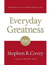 FranklinCovey Everyday Greatness: Inspiration for a Meaningful Life - Hardcover