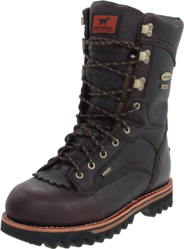 Irish Setter Men's 860 Elk Tracker Waterproof 1000 Gram 12' Big Game Hunting Boot,Brown,11 D US