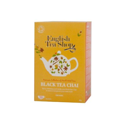 English Tea Shop - Black Tea Chai, BIO, 20 Teebeutel