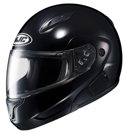 HJC CL-MAXBT II Bluetooth Modular Motorcycle Helmet (Black, Medium)