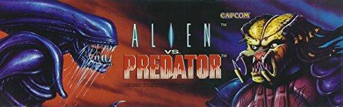 Capcom Alens Vs Predator 3 Player Arcade Game