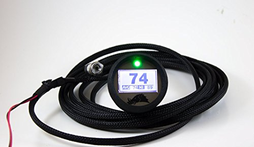 UTV 2.0 Edition Infrared Belt Temp Gauge w/ Pro Sensor Upgrade (Polaris RZR/ Arctic Cat Wildcat - 15 ft) (Infrared Temp Sensor)