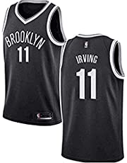 Dwin Kyrie Irving tricot - NO.11 Brooklyn Nets Basketbalspelers-shirt voor heren NBA Fan-Tricot Swingman Jerseys (S-XXL)