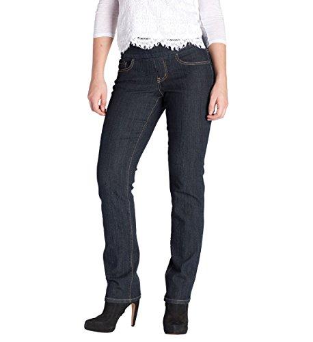 Jag Jeans Women's Peri Straight Pull on Jean, Late Night, 4 - Perin Designs