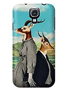 LarryToliver Customizable Mystery Funny Customizable Creative Collage Arts pictures Skin Case Cover for samsung Galaxy s4 #2