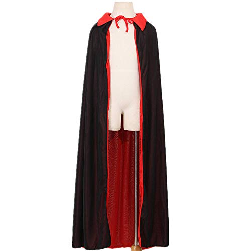 mywaxberry Halloween Party,Cape Cloak Vampire Makeup Costumes (120 cm) -