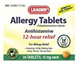 Leader Allergy Tablets, 60 Tablets Per Box (3 Pack)