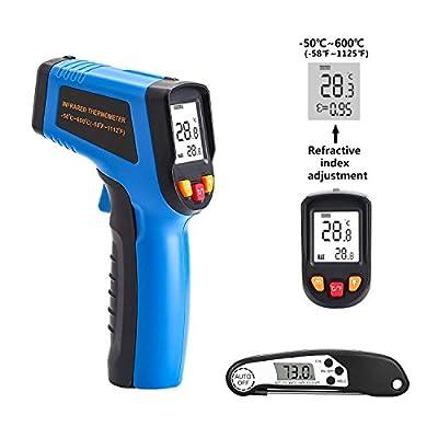 DEKO Thermometer Laser Thermometer Gun