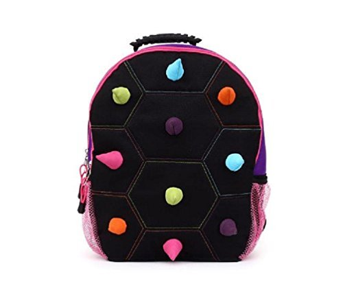 Multi Spike 16 Backpack   Black Purple Multi