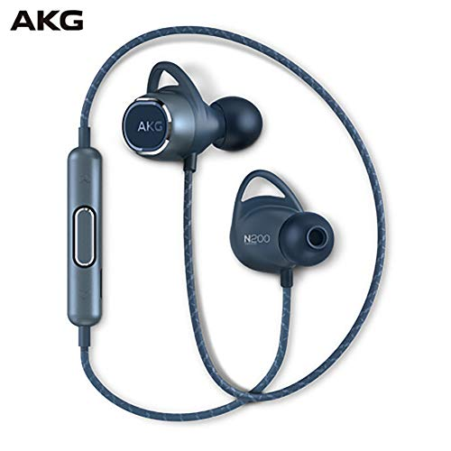 Samsung AKG-N200 Bluetooth Headphones (GP-N200HAHHDAA,Blue)