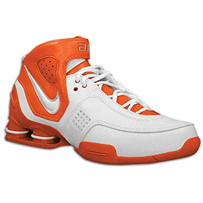 info for a67e2 452b2 Image Unavailable. Image not available for. Color  Nike Shox Elite TB Mens  Size 12.5 Orange White