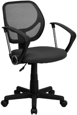Flash Furniture Low Back Gray Mesh Swivel Task Office Chair