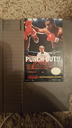 Mike Tyson's Punch-Out!!! Video Game (NES Nintendo Cartridge) (Mike Tyson's Punch-Out!!! Video Game, NES Nintendo ()
