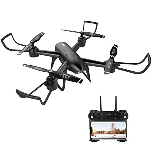 Heitaisi Folding Optical Flow 1080P HD Dual Camera Real Time Aerial Video Remote Control Long Battery Life Trajectory Flight Quadcopter Aircraft